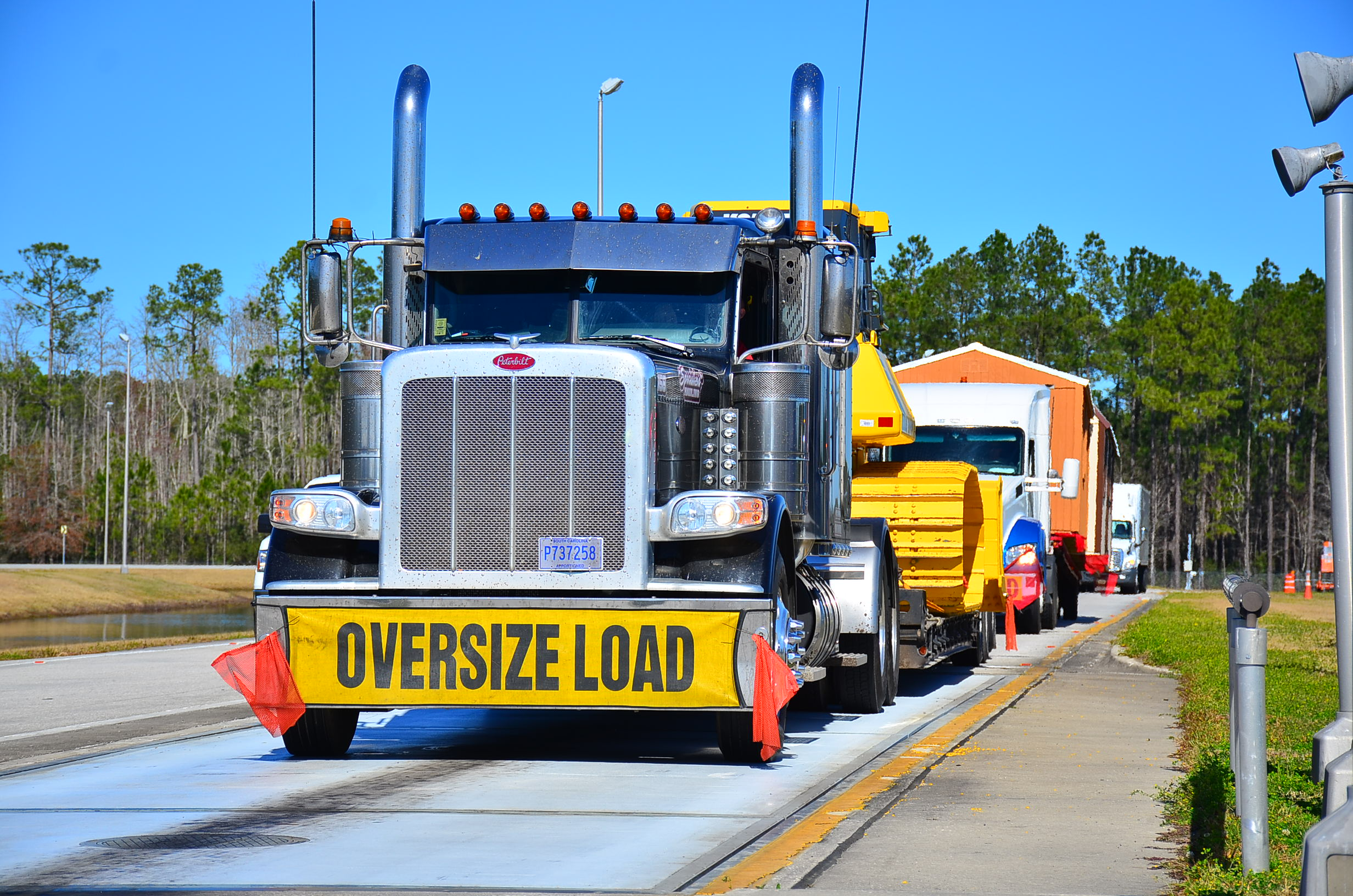 Picture of an Oversized Load